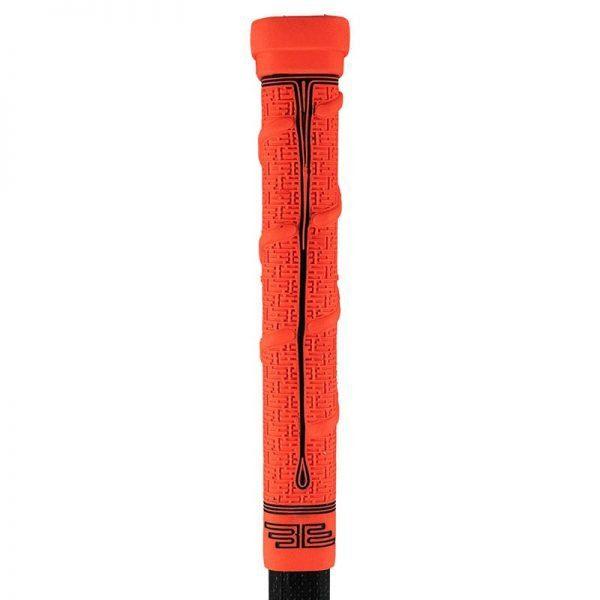Buttendz FUTURE Grip for hockeykølle rød med svarte detaljer